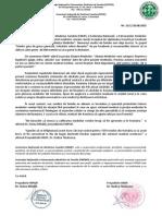 Comunicat 20 Aug 2015 Solidarizare Alianta Medicilor