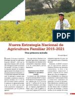 Una primera mirada a la nueva Estrategia Nacional de Agricultura Familiar 2015-2021
