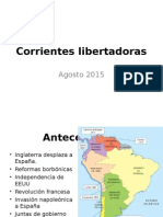 Corrientes Libertadoras