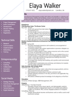 e walker resume 2015 (management + projects)