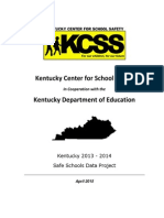 FY14 Safe Schools Data Report Final Edit 8.14.15