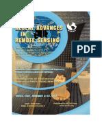 Recent Advances in Remote Sensing 2008