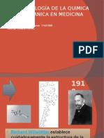 cronología de la química orgánica