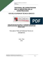 Tesis Informe de Titulacion Geomatica - Escuela Sencico