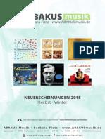 Händler Vorschau · Herbst und Winter 2015
