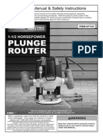 Manual Router 67119