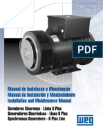 Manual de Instalación y Mantenimiento Generadores Sincrónicos - Linea G Plus