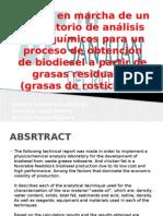 Obtención de Biodiesel a Partir de Grasas Residuales