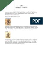 Aztec Gods & Mythology