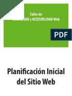 Planificacion Sitio