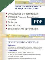 Trastornos Ayl Dificultades y Estrategias Aprendizaje (1)