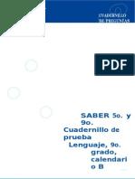 Pruebadelenguaje Grado9cuadernillouno 130923083953 Phpapp02(1)