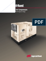 Rotary Screw Air Compressors 100-450 HP 75-350 KW Single & 2-Stage