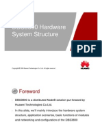 DBS3800V100R008 Hardware System Structure