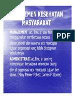 Gm 131 Slide Manajemen Kesehatan Masyarakat 2
