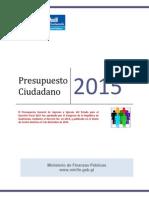 Presupuesto Ciudadano 2015