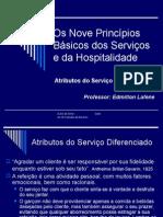 Os Nove Princípios Básicos Dos Serviços e Da Hospitalidade