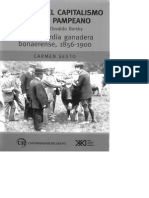 Historia del capitalismo agrario pampeano - Carmen Sesto