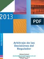 La Arbitrabilidad de Las Decisiones de Los Reguladores