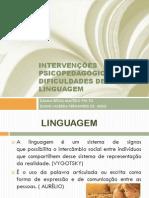 Oficina Intervenções Psicopedagógicas Nas Dif de Linguagem