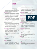 Glossary SPM Biology