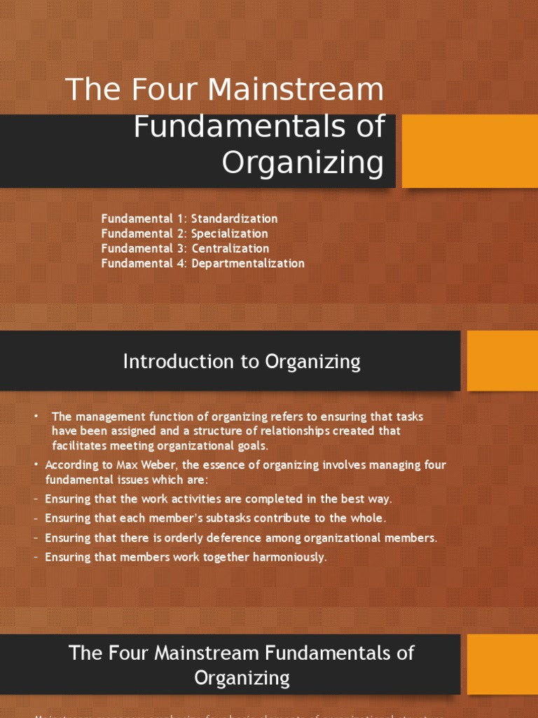 four fundamental management functions