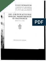 PONTIFICALE ROMANUM Editio Typica Altera 1990 INTRODUCTION