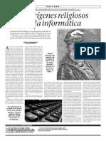 2015-08-06 - Los Orígenes Religiosos de La Informática