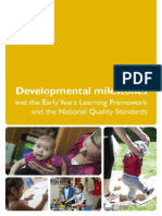 developmental-milestonesdevelopmental milestones and the eylf and the nqs