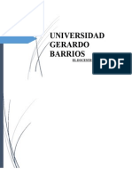 Universidad Gerardo Barrios