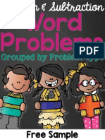 word problem types sample