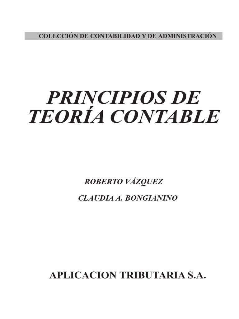 9789871487028 Vazquez Bongianino Principio de Teoria Contable Preview