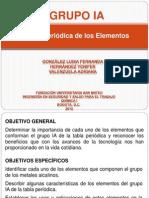 Grupo IA Tabla Periodica