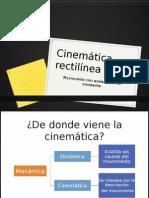 Cinemática-rectilínea