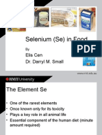 Selenium Se in Foods