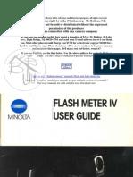Minolta Flash Meter IV-1