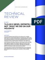 TLCI-2012 NEWS