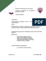 Personalidad Juridica, Regimén Patrimonial, Fiscal y Contable de Las a.R.