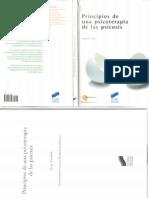 Principios de Una Psicoterapia de La Psicosis-Serge Leclaire