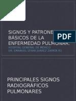 SIGNOS RADIOLÓGICOS PULMONARES