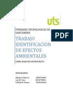 Identificacion de Efectos Ambientales