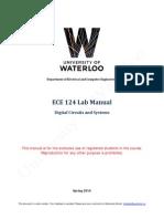 ECE 124 Lab Manual Spring 2014