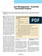 Effective Project Management - Essential Elements for Successful Projects