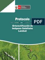 Protocolo Ortorectificacion Imagenes Landsat