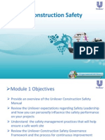 Module 1 -Construction Safety