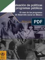 Miram Cardozo La Evaluacion de Politicas y Programas Publicos