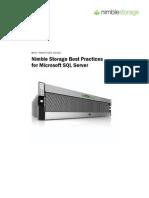 Nimble Storage SQL Server