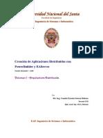 Creacion de Aplicaciones Distribuidas - Arquitectura Distribuida