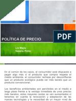 Política de Precio Ecológicos