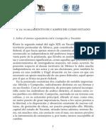 El Surgimiento de Campeche Como Estado
